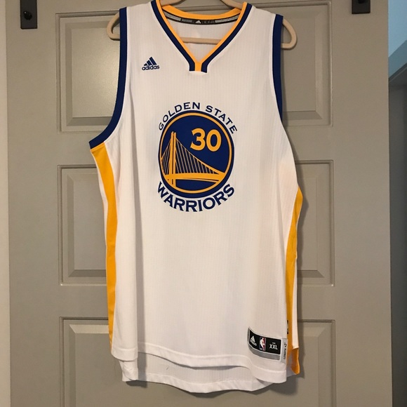 check out 5b858 89eac Adidas Golden State Warriors Steph Curry Jersey